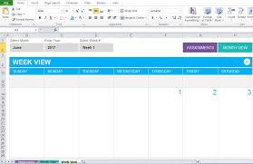 Weekly Homework Planner Weekly Schedule Template School A To Z