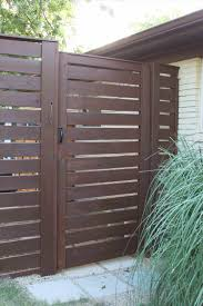 white horizontal wood fence. Exterior White Privacy The Minimalist Living Horizontal Wood Fence