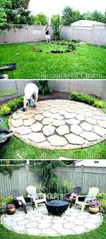 fire pit layout creative stone designs backyard inspirational of outdoor fireplace and ideas simple plans paver