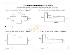 Area-of-irregular-shapes-worksheet & Area Of Compound Shapes ...