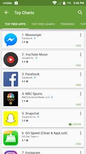App Store Top Charts Play Store Finally Has Separate Charts For Apps And Games
