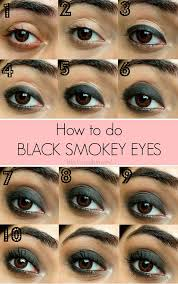 you featured image home how to do makeup with black black smokey eye makeup in 10