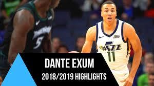 Dante Exum - Highlights 2018/2019 ...