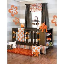 orange nursery bedding  thenurseries