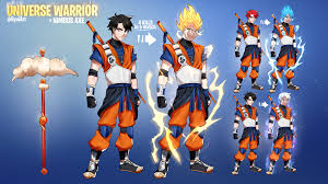 Design A Fortnite Skin Ive Been Watching Dragonball Lately So I Thought Id Design