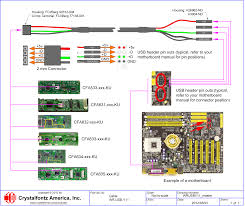usb motherboard cable wrusby11 from crystalfontz quick view scale drawing metric