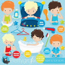 Hygiene Chart Clipart Commercial Use Vector Graphics Digital Cl799
