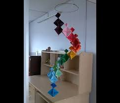 How to make A Colorful Wind Chime - DIY Home Decoration Ideas - YouTube