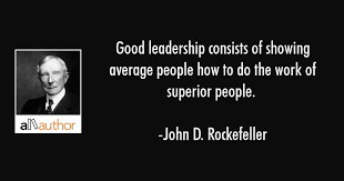 Good Leadership Consists Of Showing Average Quote Magnificent Good Leadership Quotes