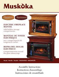 greenway home s muskoka mm284sok user manual 7 pages also for muskoka mm284sch
