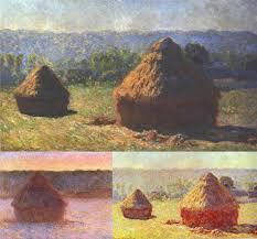 a few haystacks from 1891