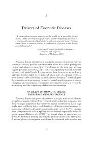 drivers of zoonotic diseases sustaining global surveillance page 77