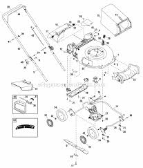 snapper riding mower parts diagram diagram snapper sp60 parts list and diagram ereplacementparts com