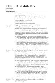 software development manager resume samples scrum master resume