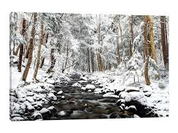 winter wall art stream in winter nova horizontal by 1 piece winter blooms ii canvas wall winter wall art  on winter blooms ii canvas wall art with winter wall art winter tree scene metal wall art payges
