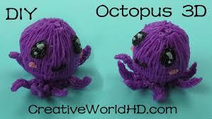 How to Make Octopus 3D 3D Printing Pen Creations Scribbler DIY.