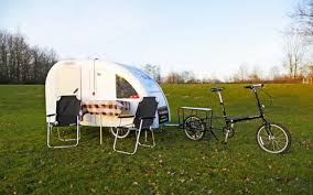 Bike Camper Trailer Tiny Bike Towed Caravans Could Transform Cycling Holidays Telegraph