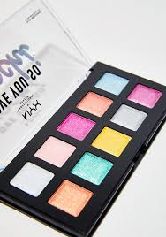 nyx professional makeup electric pastels love you so mochi eyeshadow palette