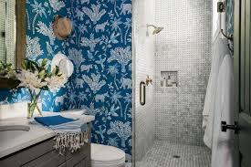 bathroom wallpaper. Bright And Happy Bathroom Wallpaper A