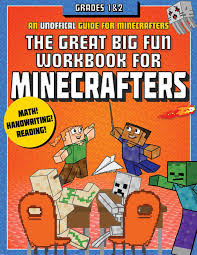 Minecraft Star Chart The Great Big Fun Workbook For Minecrafters Grades 1 2