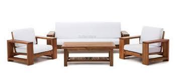 wooden sofa design india ws 77 comfortable sofa set in teakwood details bic furniture