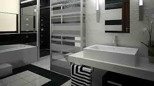 Black And White Bathroom Designs Best Decorating Design