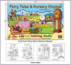9781935266044 fairy tales and nursery rhymes coloring book 17x11