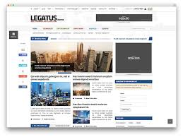 Newspaper Website Template Free Download Top 50 News Magazine Wordpress Themes 2019 Colorlib
