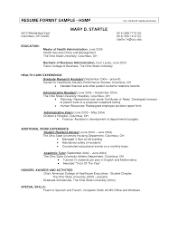 resume format experience  seangarrette coformat resume examples with healt care experience    resume format