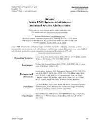 Citrix Administrator Resume Sample Gallery Creawizard Com