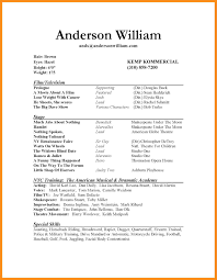 Resume Format For Acting Auditions Inspirational Actors Resumes