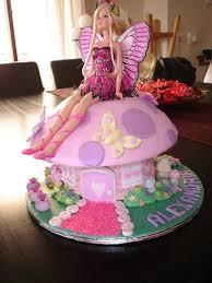 Girlsbirthdaycakeideas Make Your Own Barbie Birthday Cakes