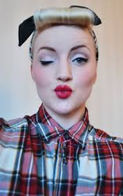 50s eye makeup 50s makeup i like what you do to my hair