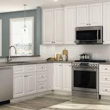 home depot cabinets. Plain Home Hallmark Arctic White Cabinets Intended Home Depot