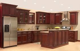 Wooden Kitchen Furniture Stainless Steel Kitchen Counters Frosted Glass Kitchen Cabinet