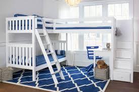 bunk beds kids desks. Corner Loft With Desk Under Bunk Beds Kids Desks B