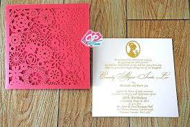 Birthday Invitation Cards Large Size Of Party Announcements