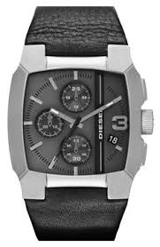 diesel sba watch nordstrom com techy face steampunk diesel® square leather strap watch nordstrom