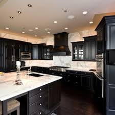 Beautiful Kitchens With Black Cabinets And Dark Wood Floors Hardwood Grey Walls Design Pictures Remodel For Creativity