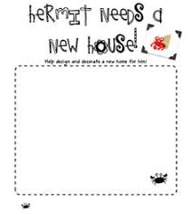 Small Picture house for hermit crab boardmaker esl Pinterest Eric carle