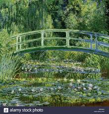 claude monet 1840 1926 french impressionist painter his water lilies and the anese bridge painted 1897 1899