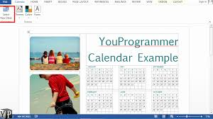 Calendar In Word Document Awesome 45 Illustration Make A Calendar In Word