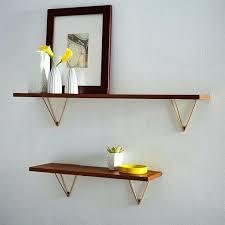 mid century modern wall shelf