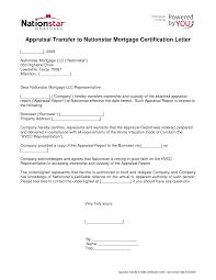 Appraisal Transfer Letter Sample Best Photos Of Ownership For