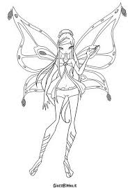 Disegni Da Colorare Di Winx Enchantix