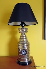 nhl stanley cup lamp boys sports room boys sports bedroom steelers pirates