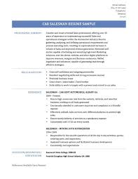 Car Salesman Resume Example Auto Sales Resume Sample Therpgmovie 11
