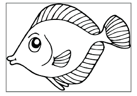 Rainbow Fish Coloring Pages For Preschoolers Free Printable To Print