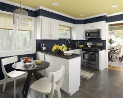 kitchen furniture designs. Narrow Kitchen Designs By Highly Competent Designers: Black And White Space Idea With Pale Furniture L