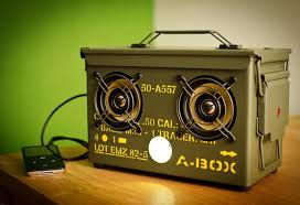 how to turn any ammo box into an awesome set of portable speakers macgyverisms wonderhowto
